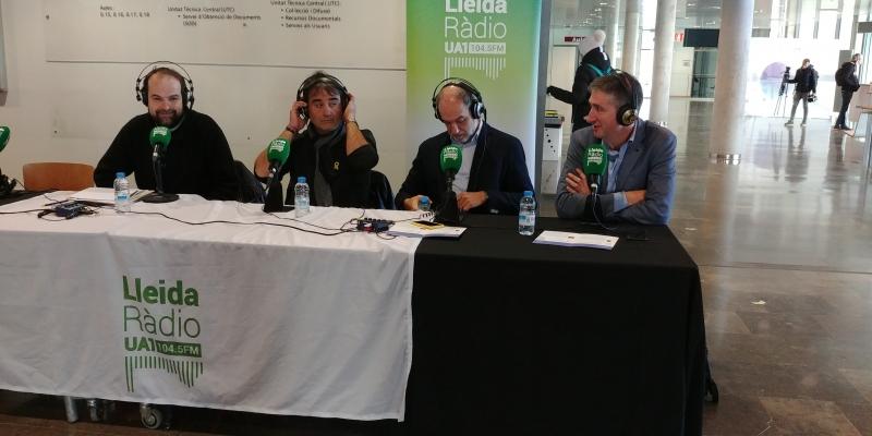 Jornada Endavant, entrevista de Lleida Radio UA1 al diretor de la Càtedra Ramon Saladrigues