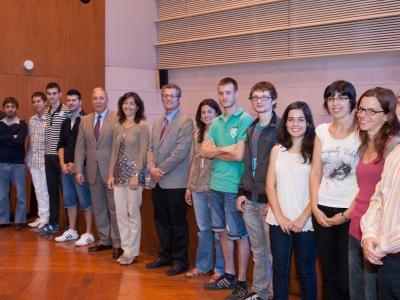 Concurs IdeaUdL. Foto de Grup. Edició 2012