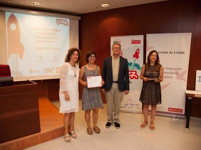 El premio YUZZ Mujer fué para el proyecto de Rous Martínez