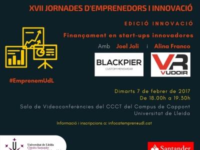 Finançament en start-ups innovadores