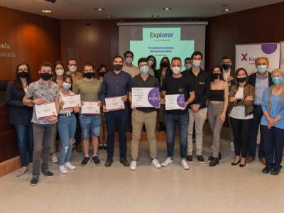 Foto de grup. Lliurament de premis Edició 2020
