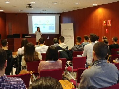 Conferència de Montse Castillo, de Repaq