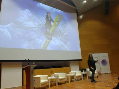 Jornada Endavant, conferència de Maria Gómez de Womenalia