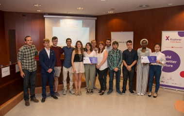 Imatge dels participants Explorer Lleida